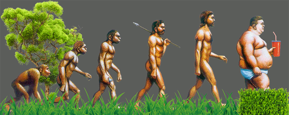 The arrival of a new species of man