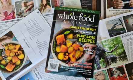 Whole Food Living autumn issue out now