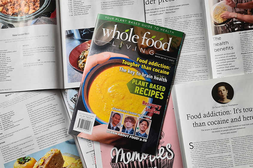Whole Food Living Winter issue on sale now
